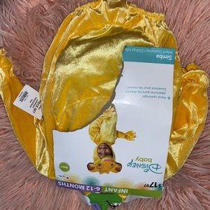 Simba costume - NWT 6-12m